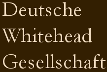 Deutsche Whitehead Gesellschaft